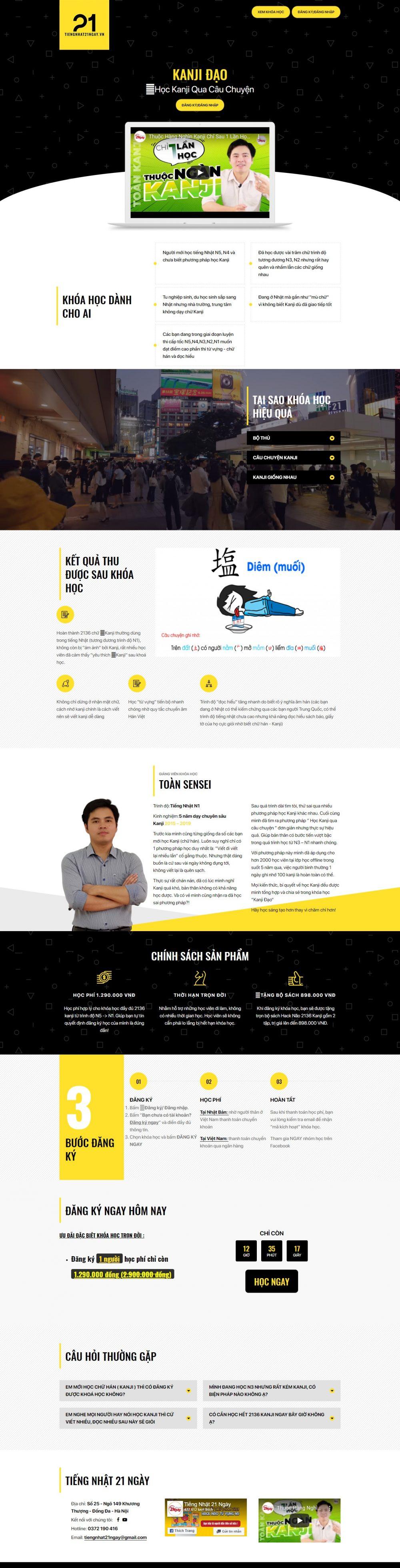 Kanjidao – Học tiếng Nhật online