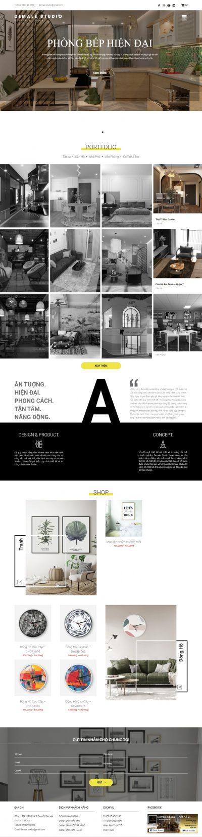 Demale Studio – Thiết kế, thi công nội thất