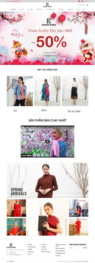 Pleats Kora – Thời trang cho phái đẹp