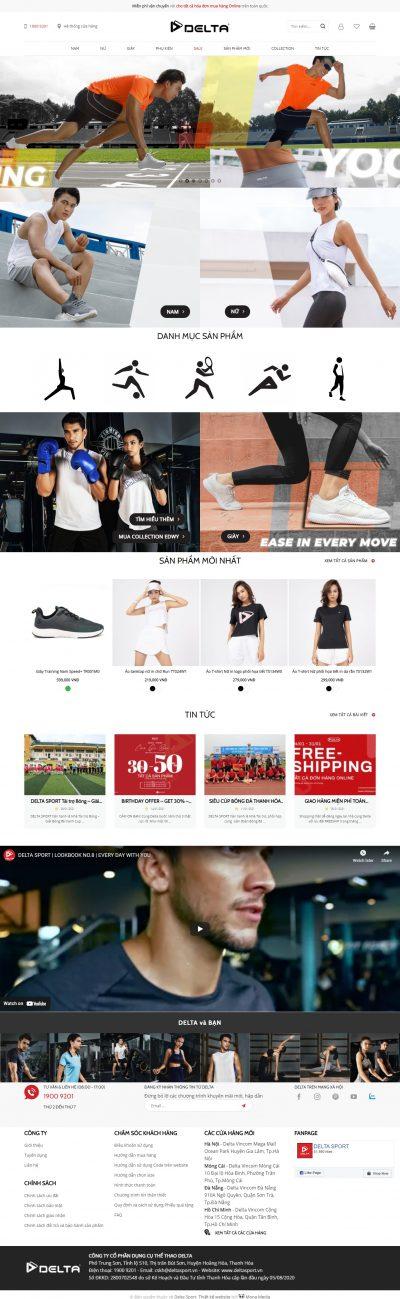 Delta Sport – Thời trang thể thao