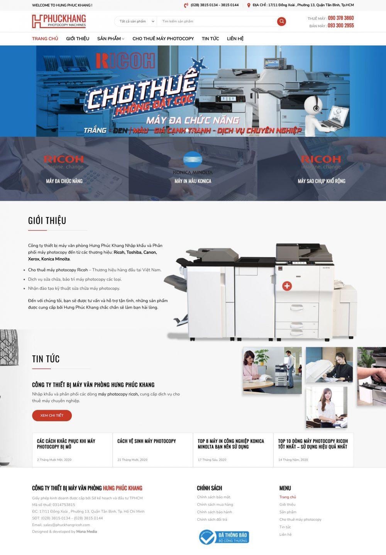 HƯNG PHÚC KHANG – Cho thuê máy Photocopy
