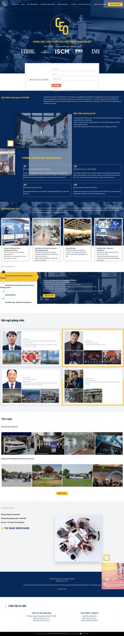 KVAM – Chương trình CEO toàn cầu