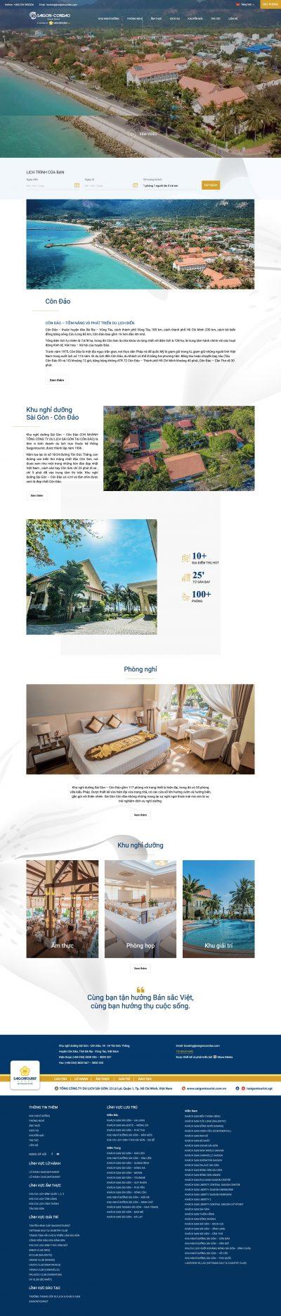 Khu nghỉ dưỡng Sài Gòn – Côn Đảo