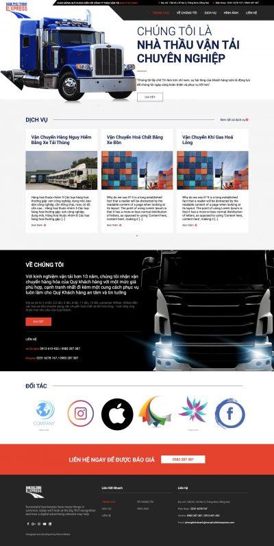 NAM PHÚ THỊNH EXPRESS – Công ty vận tải uy tín