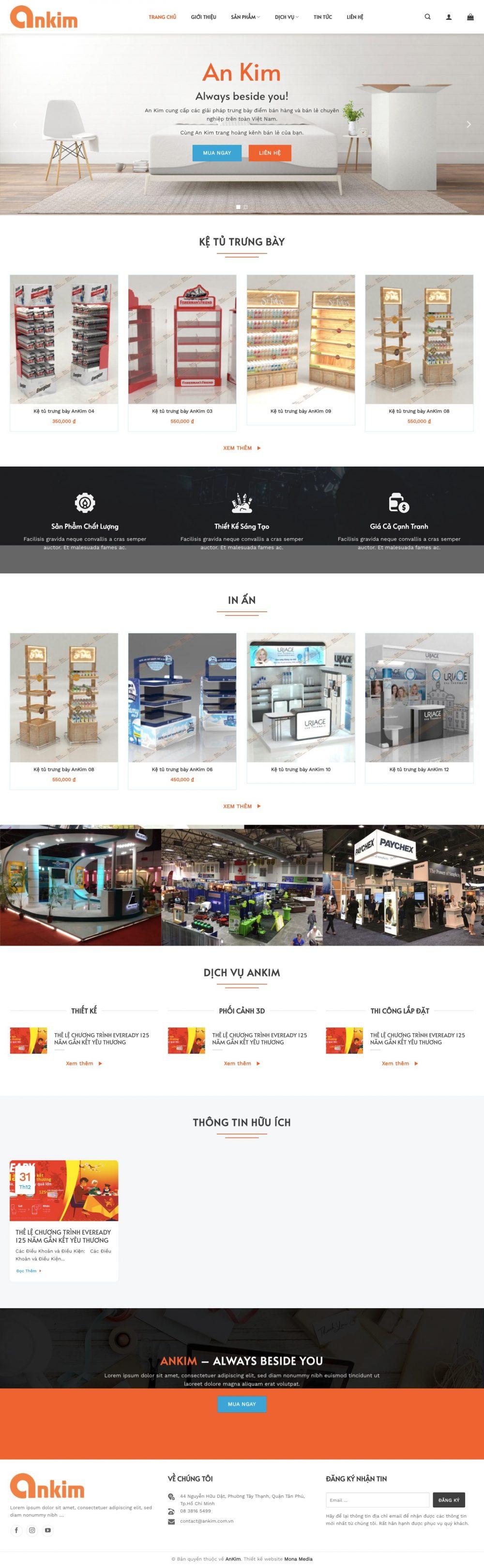 AN KIM – Cung cấp vật dụng trưng bày bán hàng