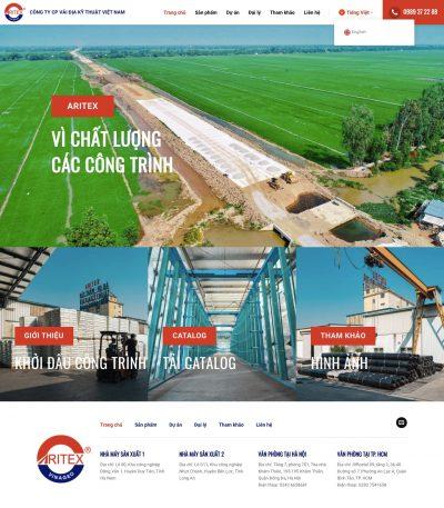 ARITEX – Công ty Cổ phần Vải Địa Kỹ Thuật Việt Nam
