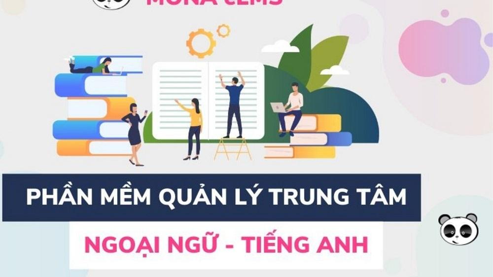 web app quản lý trung tâm ngoại ngữ Mona eLMS
