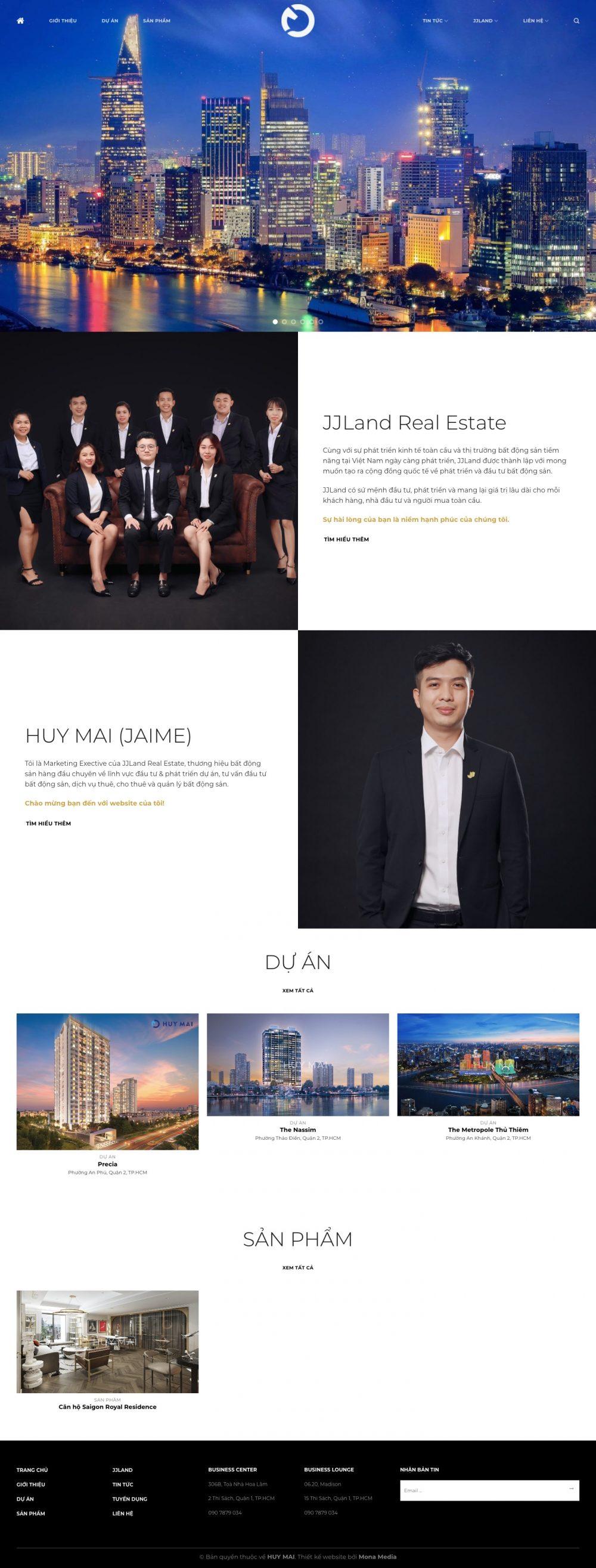 HUY MAI – Thành viên nhóm chuyên gia bất động sản JJLand