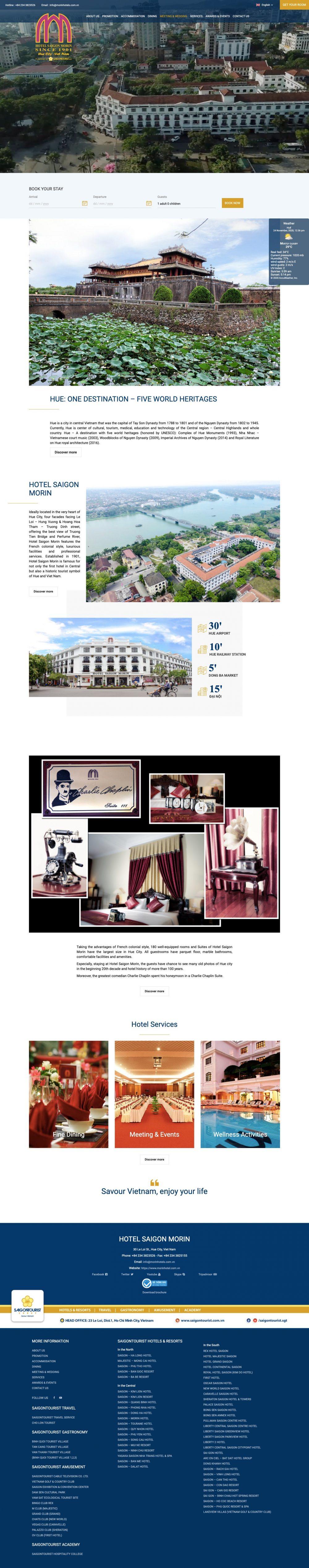 Khách sạn Sài Gòn – Morin