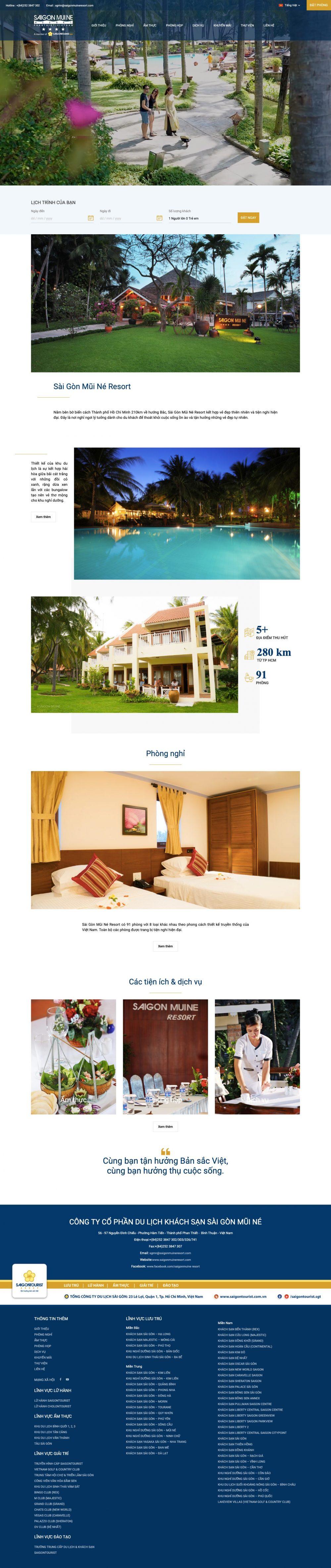 Sài Gòn  – Mũi Né Resort
