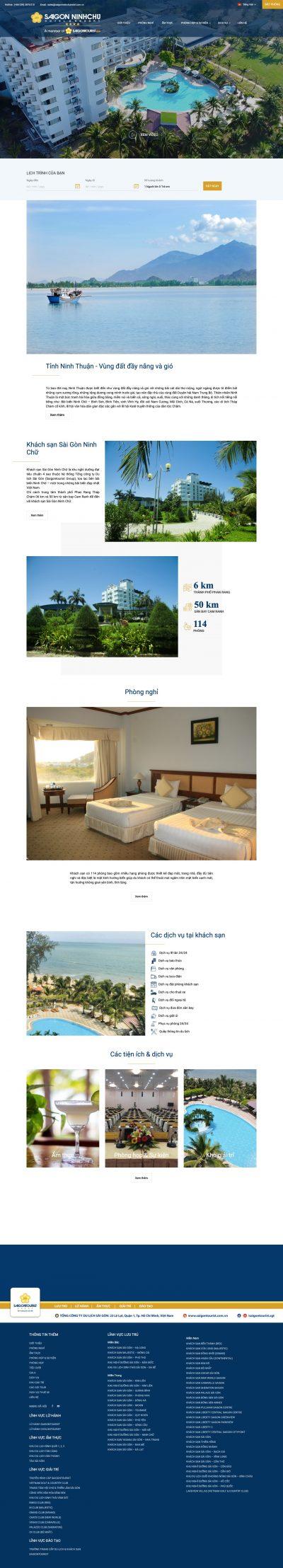 Khách sạn Sài Gòn – Ninh Chữ
