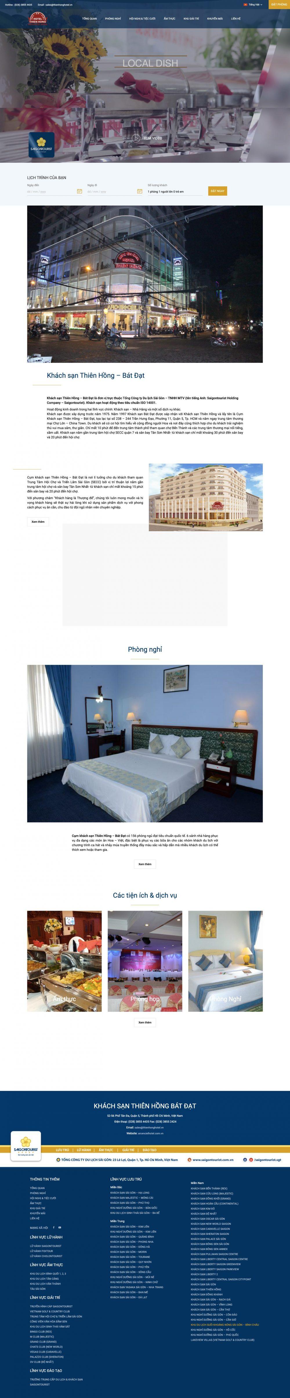 Khách sạn Thiên Hồng – Bát Đạt