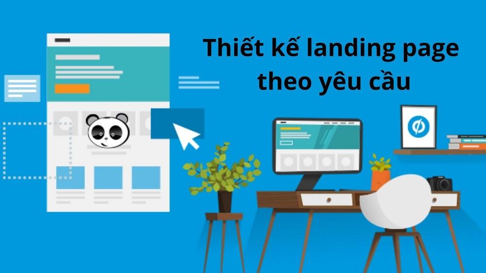 thiết kế landing page theo yêu cầu