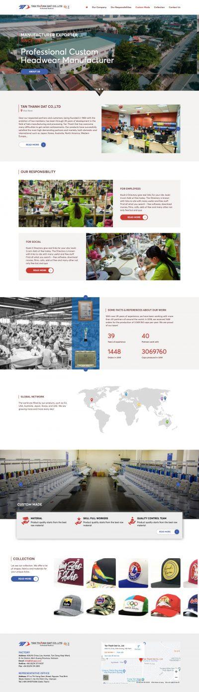 TÂN THÀNH ĐẠT – Công ty sản xuất nón