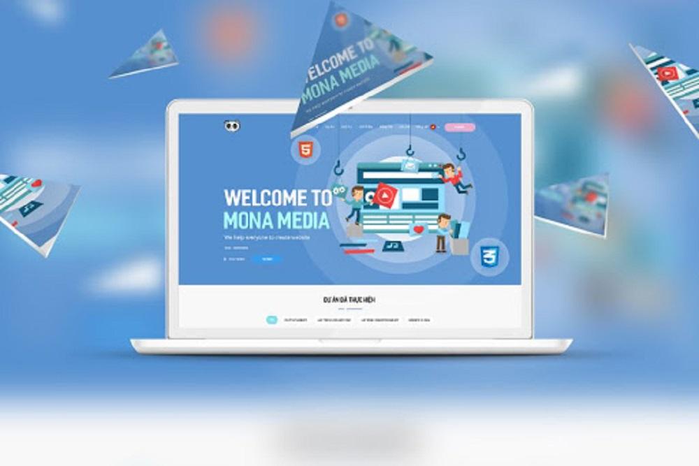 thiết kế website bình dương tại Mona Media
