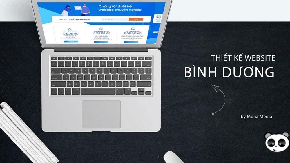 Thiết kế website tại Bình Dương chuyên nghiệp