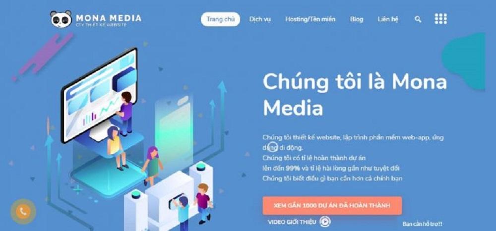 thiết kế app bán hàng tại Mona Media