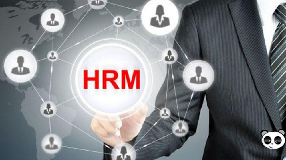 Thiết kế phần mềm quản trị nhân sự HRM