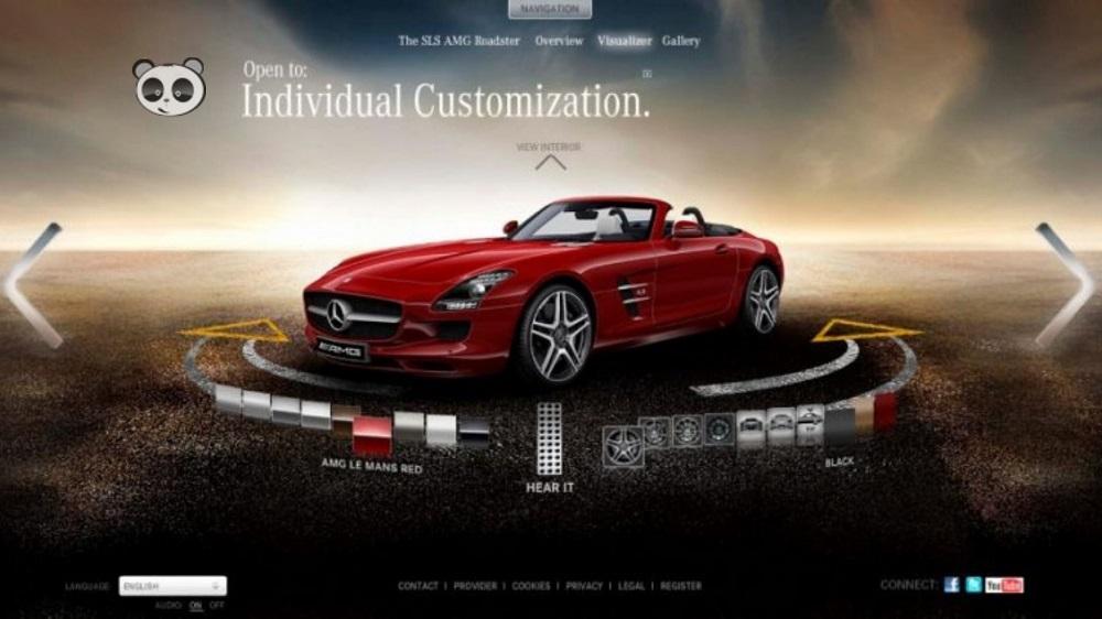 thiết kế website showroom xe hơi