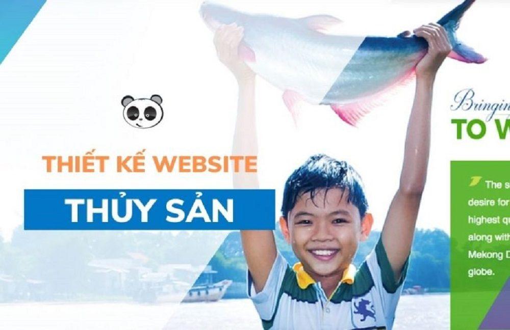 Thiết kế website thủy sản – bán thủy hải sản chuyên nghiệp