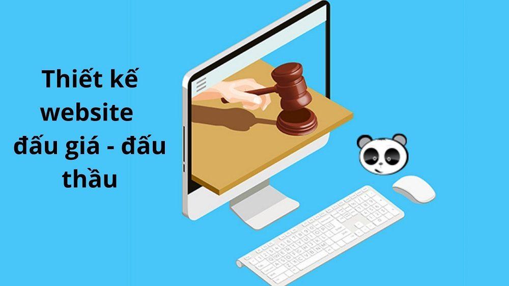 Thiết kế website đấu giá, đấu thầu, mua bán trực tuyến