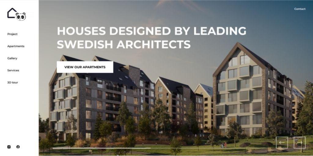 Thiết kế web vr dự án bất động sản - nhà đất