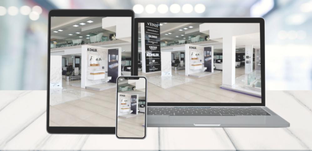 web 3D Showroom trưng bày sản phẩm